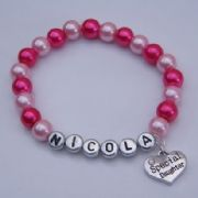 Special Daughter Personalised Bracelet - Beaded Style